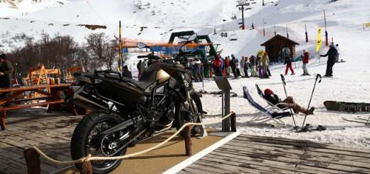 BMW Motorrad dijo presente en el invierno del sur de la Argentina