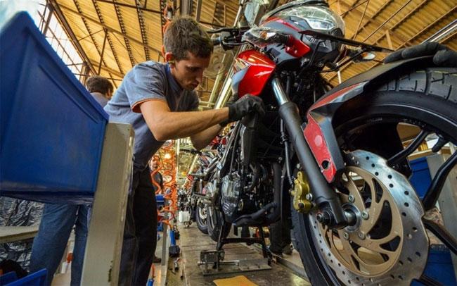 Corven Motos comienza con la producción de las motos Bajaj