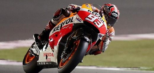 Marc Márquez se queda con la primer competencia de MotoGP