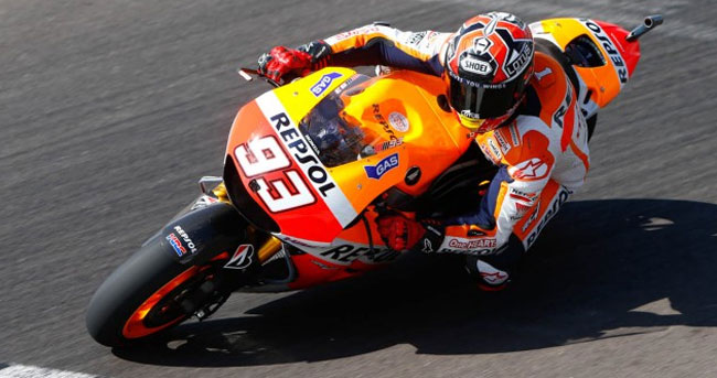Tercer triunfo de Marquez en el Campeonato Mundial de MotoGP