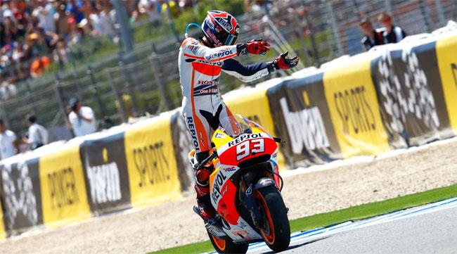 Marc Marquez triunfó en el Gran Premio de España del MotoGP