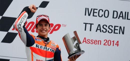 Octavo triunfo de Marquez en el Campeonato Mundial de MotoGP