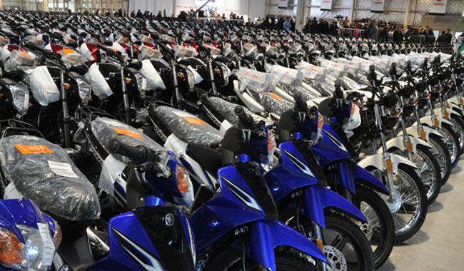 Se patentaron en julio 38.100 motovehículos