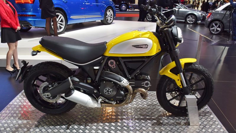 Ducati Argentina presento la Monster 1200, 1200 S y Scrambler