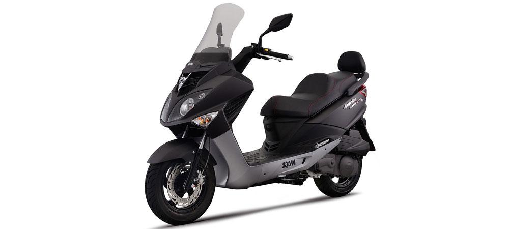 Scooter Motomel Sym Joyride 200i EVO frente