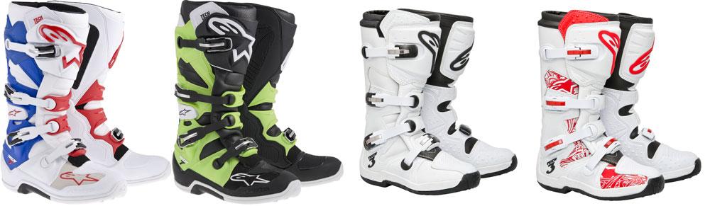Nuevas botas Alpinestars Tech para motocross