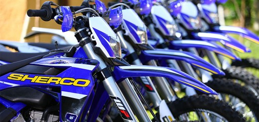 Lanzamiento de las motos SHERCO en la Argentina