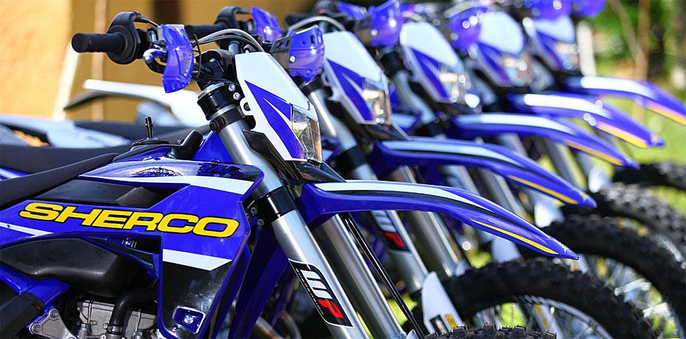 Sherco motos llega a la Argentina en marzo