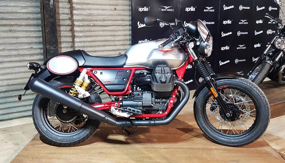 Moto Guzzi V7 III Racer desde u$s 21.250