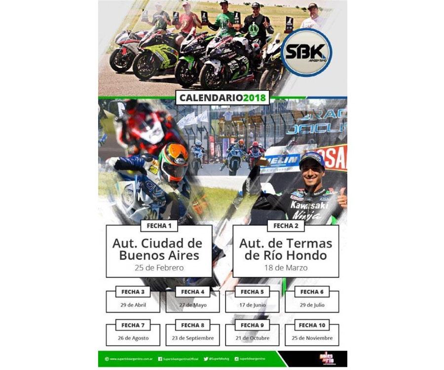 calendario superbike argentino