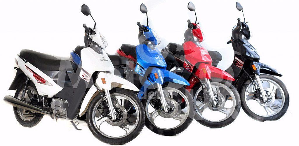 La moto Zanella ZB 110 la más patentada del 2017, seguida por Corven Energy y Motomel B110