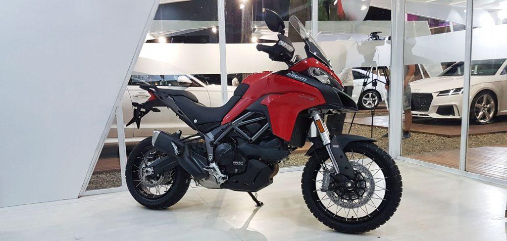 Ducati está presente en Cariló con la Monster 1200 S, la Multistrada 950 y la Supersport S