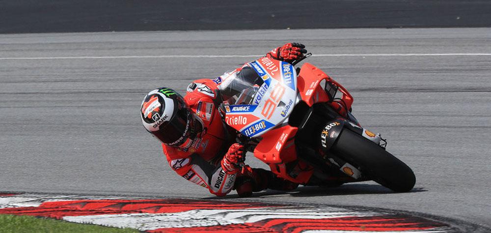 MOTO GP: Lorenzo es líder y bate récord.