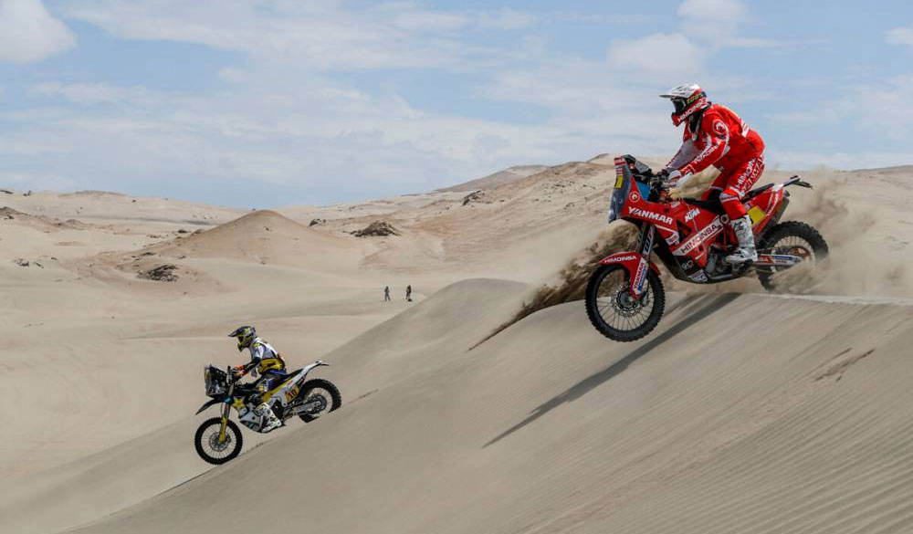 Dakar 2018: Van Beveren con Yamaha toma la punta tras el abandono de Sam Sunderland