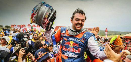 Dakar 2018 Benavides segundo