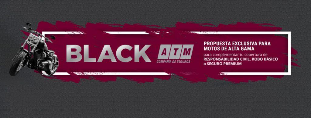 Seguros: Lanzamiento ATM BLACK