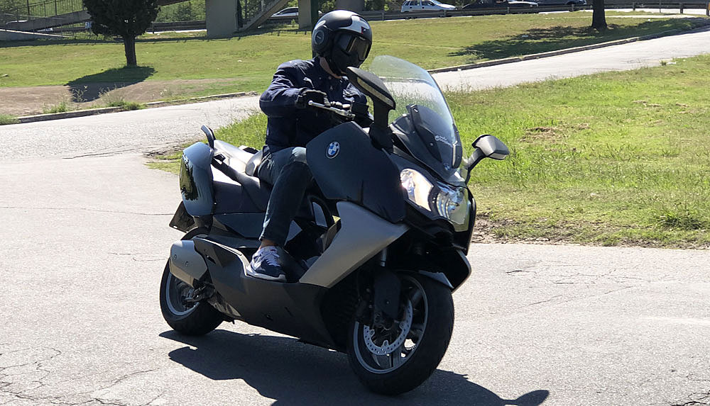 Test Ride Scooter BMW C 650 GT