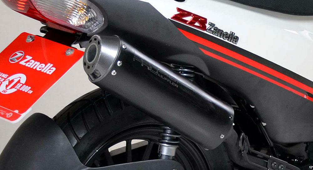Zanella presentó la ZB 125R 2018