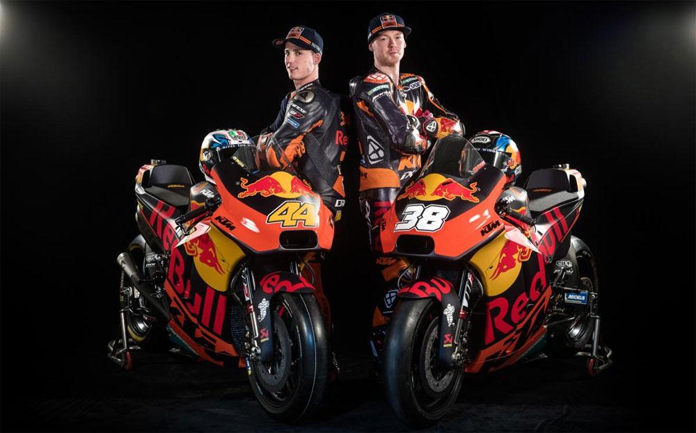 MotoGP: KTM exhibió las motos para el 2018