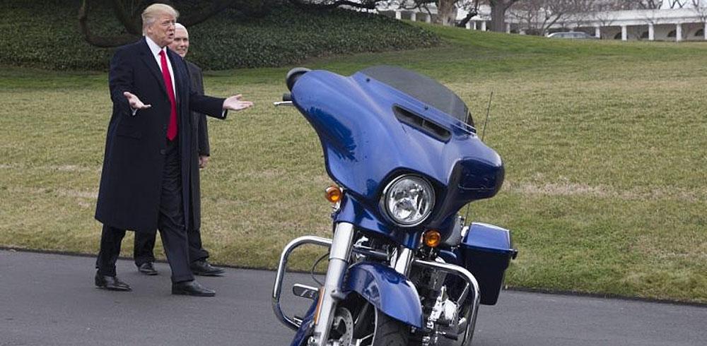 Donald Trump pone en peligro a Harley-Davidson