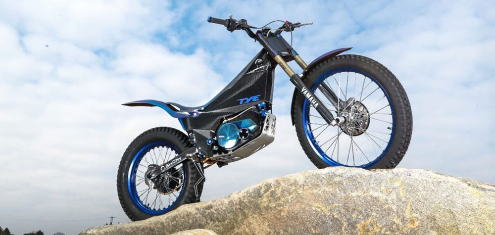 Nueva motocicleta eléctrica Yamaha de Trial para competir en el FIM Trial-E Cup 2018