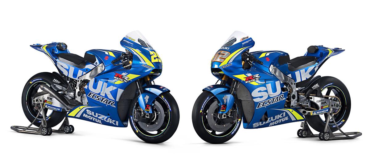 Lanzamiento Suzuki GSX-R1000 con los colores del equipo de MotoGP