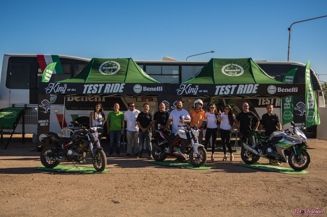 Primera Edición Benelli Test Ride Tour 2018
