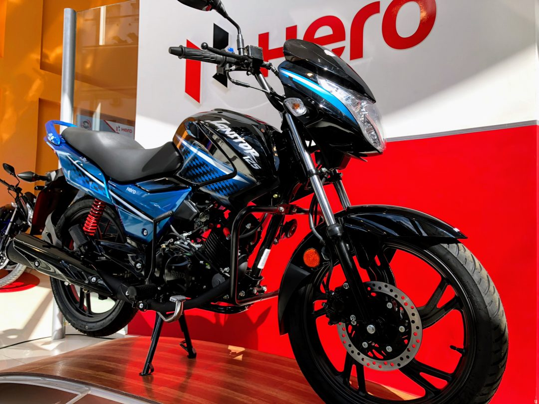 Lanzamiento Hero Ignitor 125 i3S en Argentina a $ 30.900