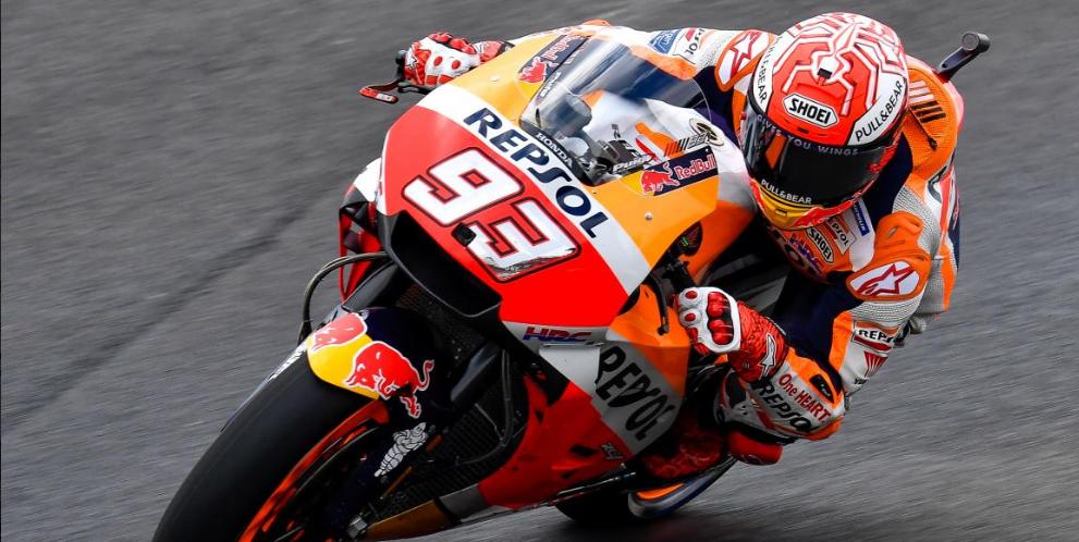 MotoGP: Márquez a la cabeza en la segunda ronda de pruebas FP2 en el GP de Argentina