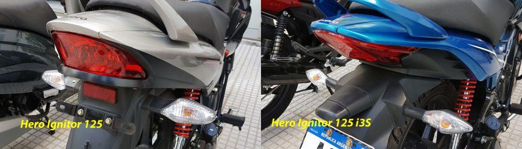 Las diferencias entre la Hero Ignitor 125 y la Hero Ignitor 125 i3S