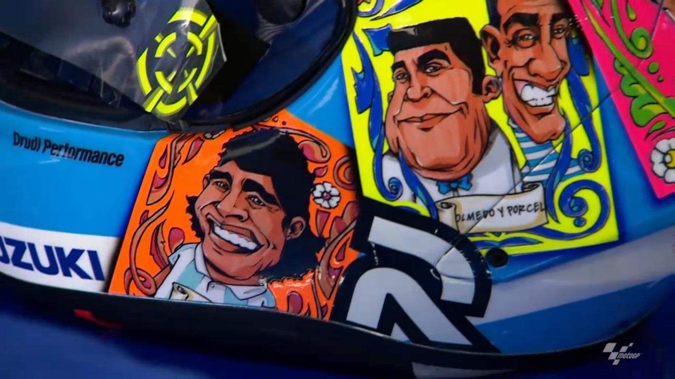 MotoGP: Iannone y su casco Argentino