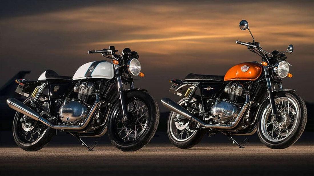 Royal Enfield presentó sus nuevas bicilindricas de 650 cc, la Interceptor y Continental GT 650