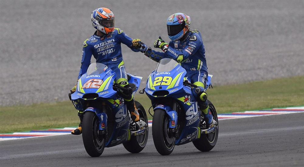 MotoGP: el Team Suzuki con Alex Rins protagonista en Termas