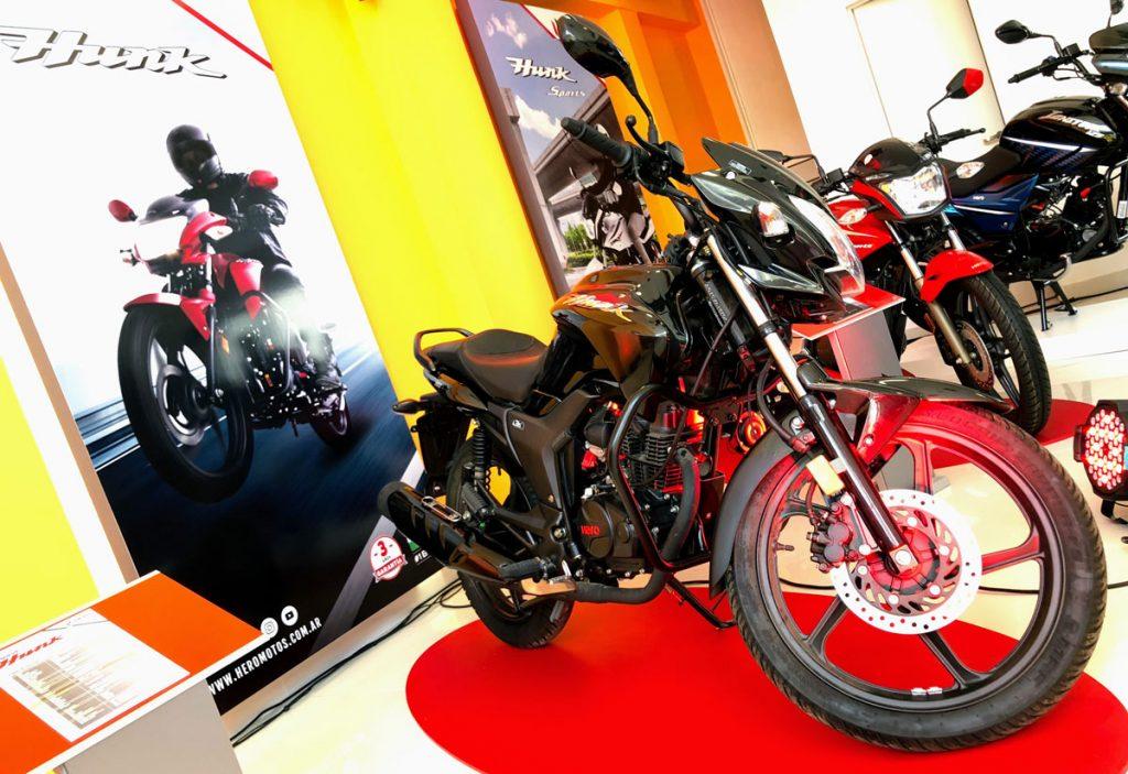 Hero Argentina estima comercializar 7.000 motos durante el 2018