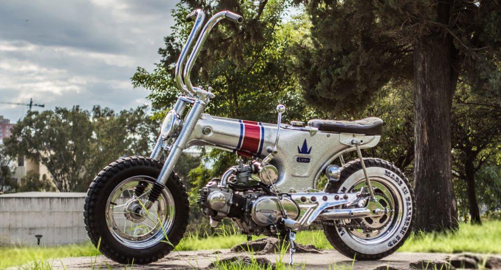 Una Honda Dax customizada diseñada por un argentino
