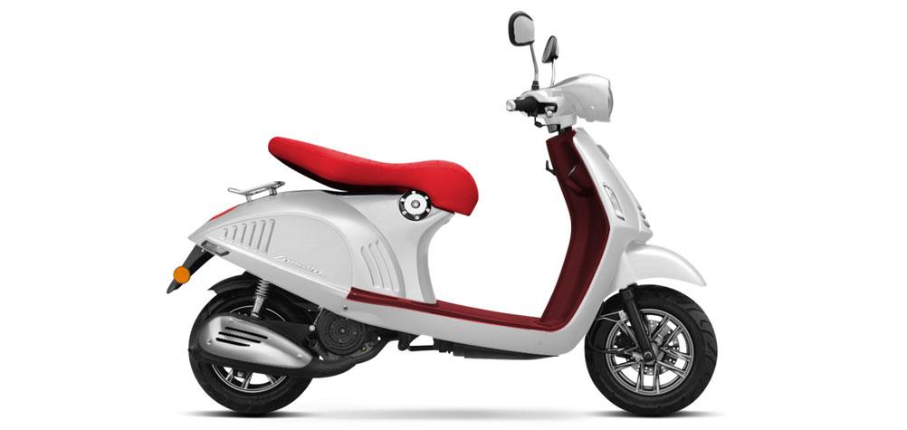 """Zanella presentó su nuevo scooter """"Exclusive Prima"""""""
