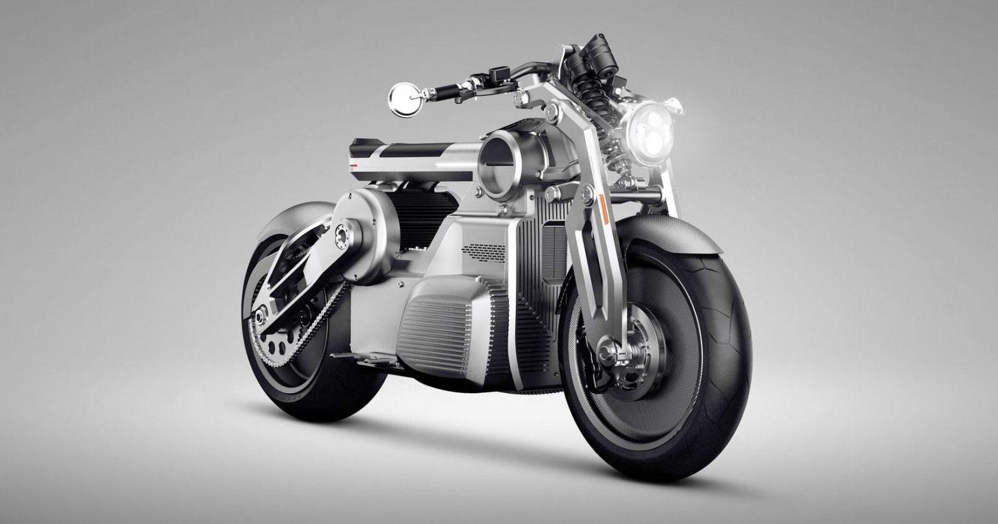 La primer moto Hot Rod con dos motores eléctricos