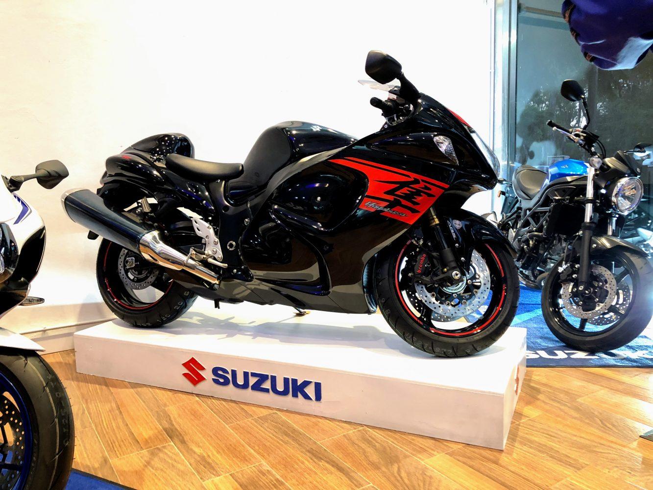 Suzuki Motos crece en Argentina