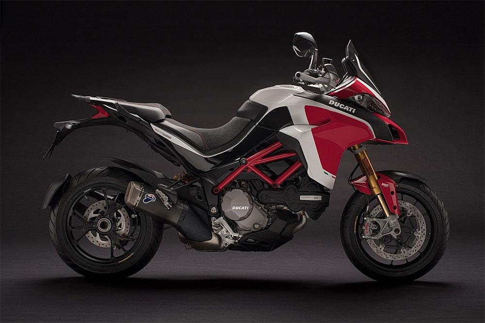"""Ducati correrá la """"Trepada al Pikes Peak"""" con su nueva Multistrada 1260"""