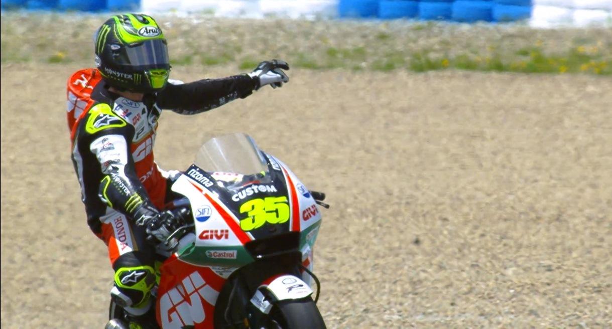 MotoGP en Jerez: Crutchlow larga primero