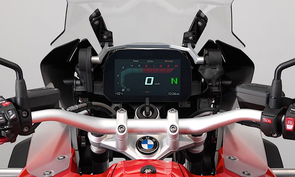 Nuevos tableros 100% digitales para la BMW GS 1200 y R 1200 GS Adventure