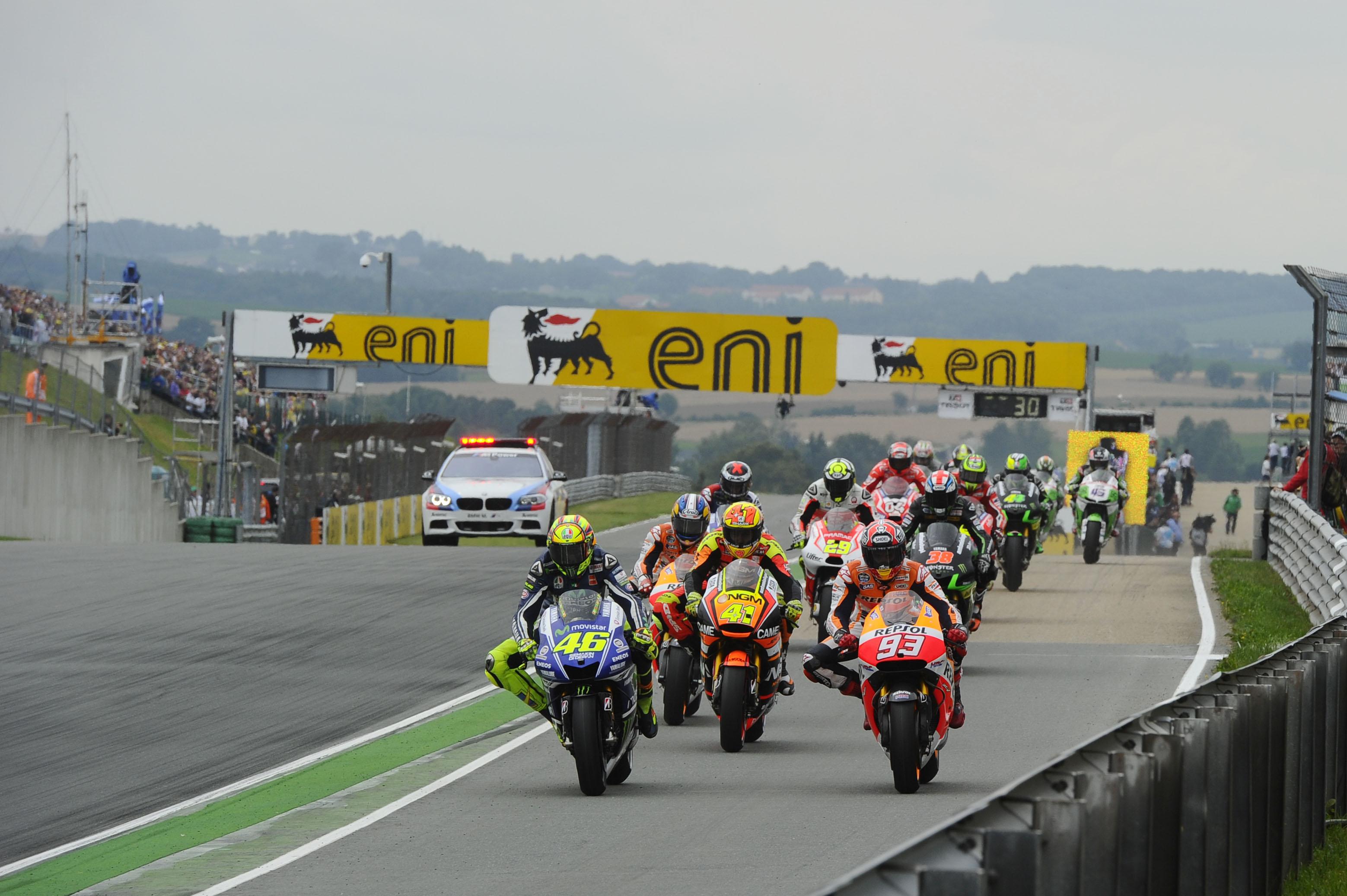 Es oficial. Habrá cambios en el procedimiento de salida del MotoGP