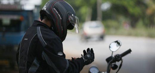 preparando moto