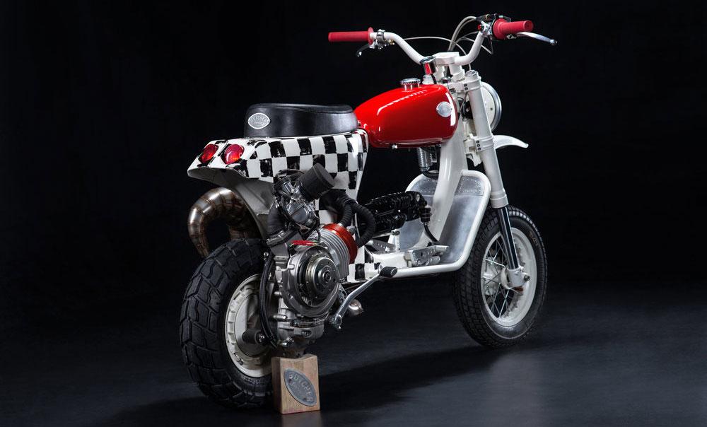 La customización de motos llegó a Vespa