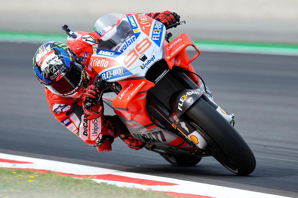 El Gran Premio de Cataluña fue para Lorenzo