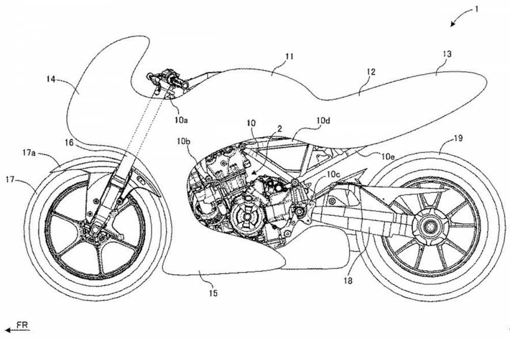 Se conoció un concept de la Suzuki GSX700 Katana con turbo