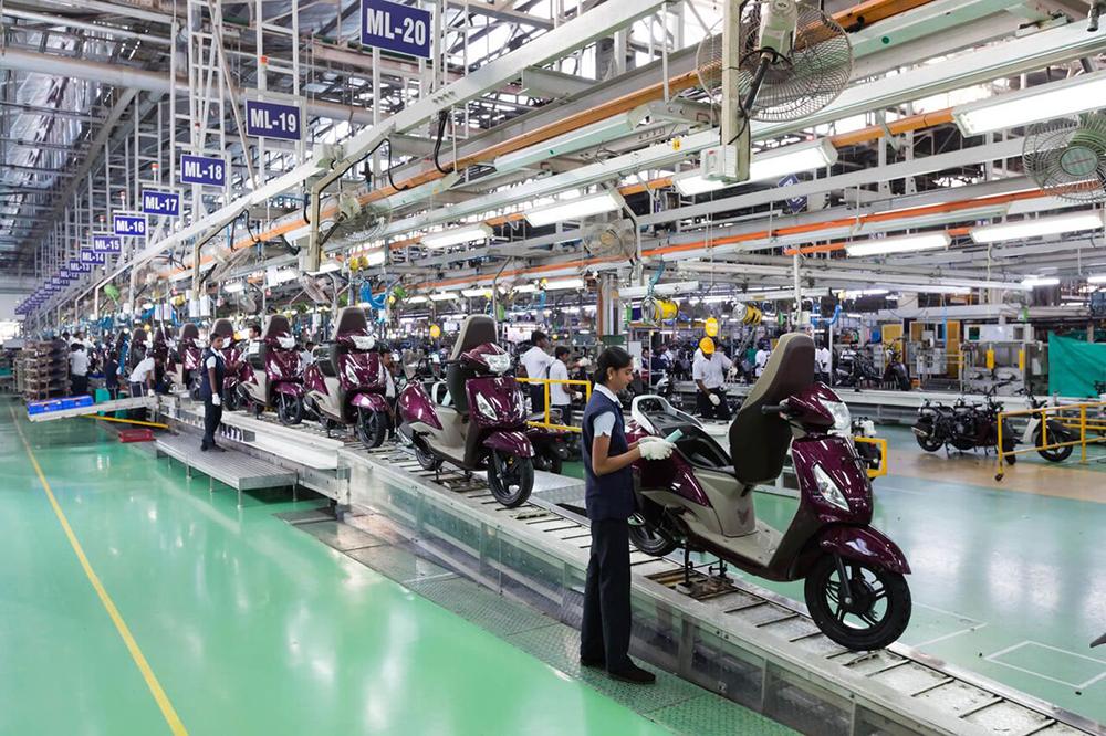TVS Motor Company se une con BETA Motor Argentina para fabricar motos en el país