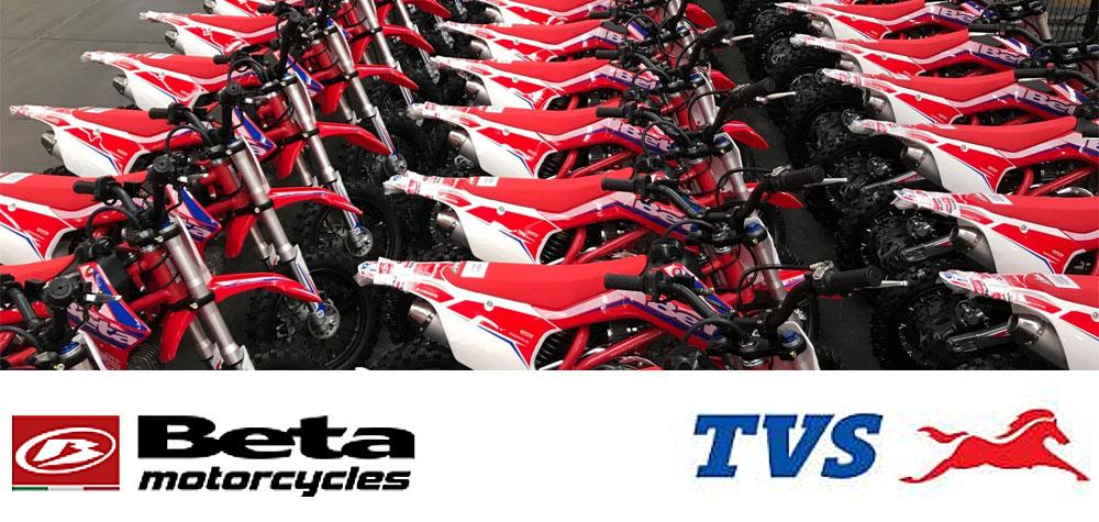 TVS Motor Company se une con BETA Motor Argentina