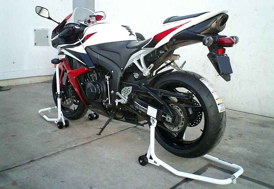 Preparando la moto para el invierno