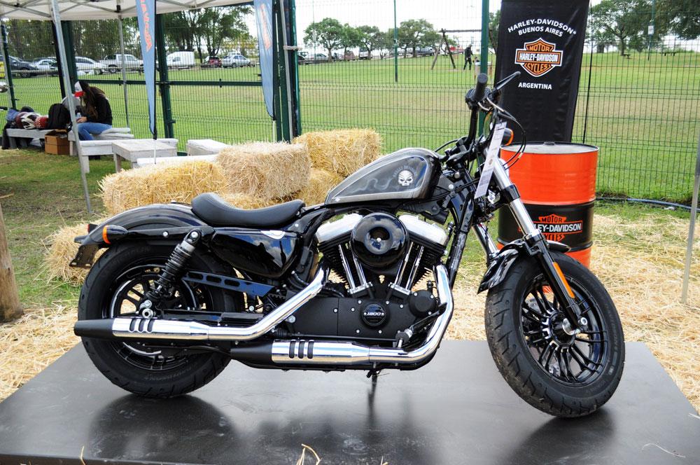 Harley Davidson estuvo presente en AFF MOTOS 2018 con la XL1200X FORTY-EIGHT®